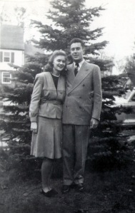 My grandparents in 1946 - one month after they started dating.