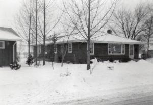 My grandparent's house.
