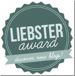 Nominated for LiebsterAward!